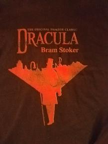 Kait's Bookshelf Dracula Shirt
