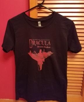 Kait's Bookshelf Dracula Tshirt