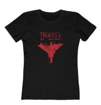Kait's Bookshelf Online Dracula Shirt