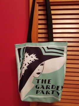 Kait's Bookshelf The Garden Party Tote Bag