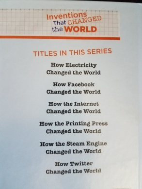 Kait's Bookshelf Inventions that Changed the World