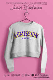 Kait's Bookshelf Admission by Julie Buxbaum