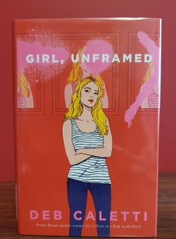 Kait's Bookshelf Girl Unframed Cover